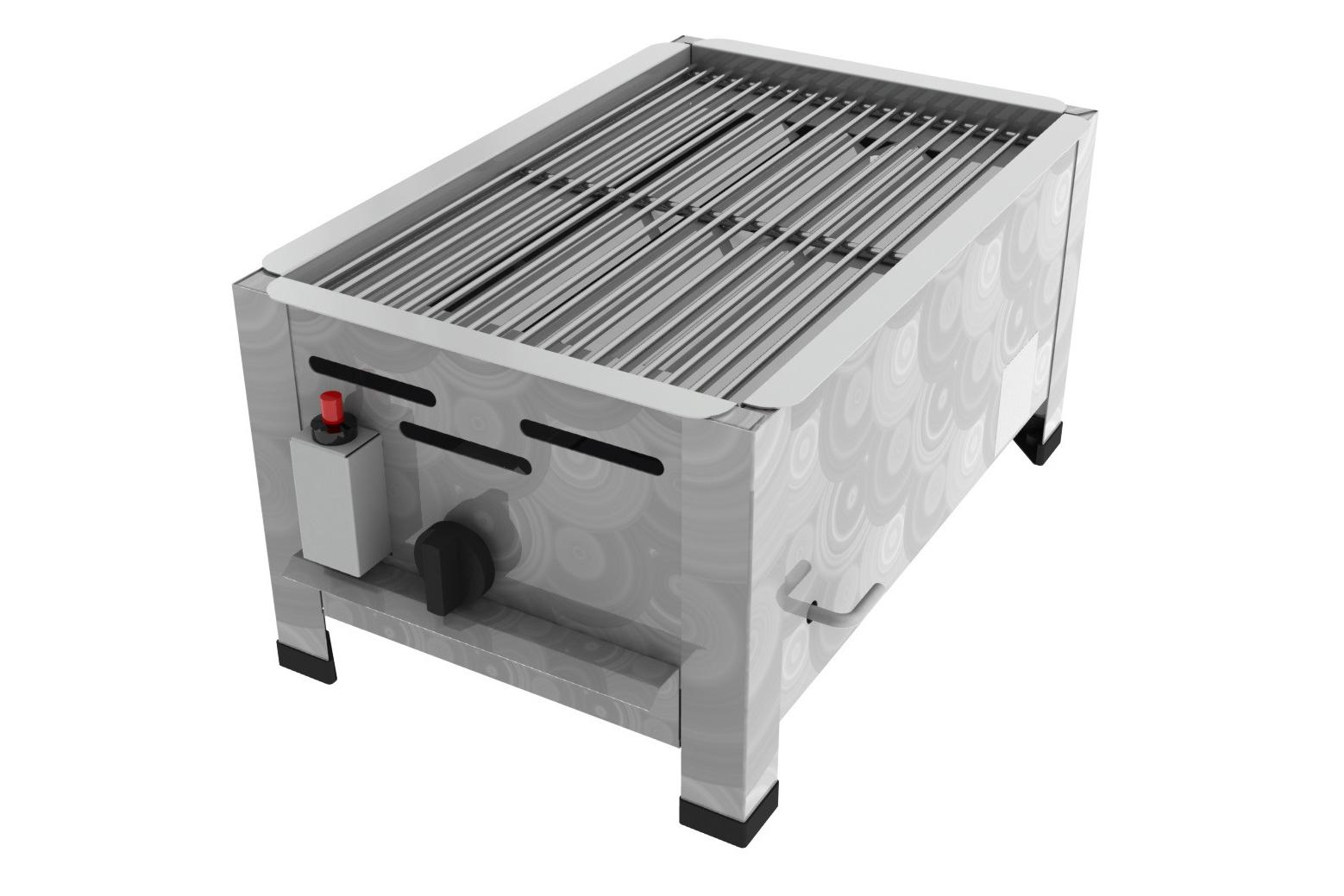 edelstahl gasgrill grillrost  kw  flammig