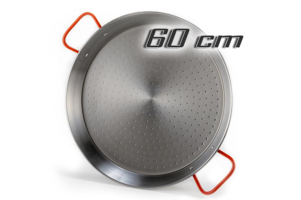 stahl paellapfanne paella pfanne 60 cm. Black Bedroom Furniture Sets. Home Design Ideas